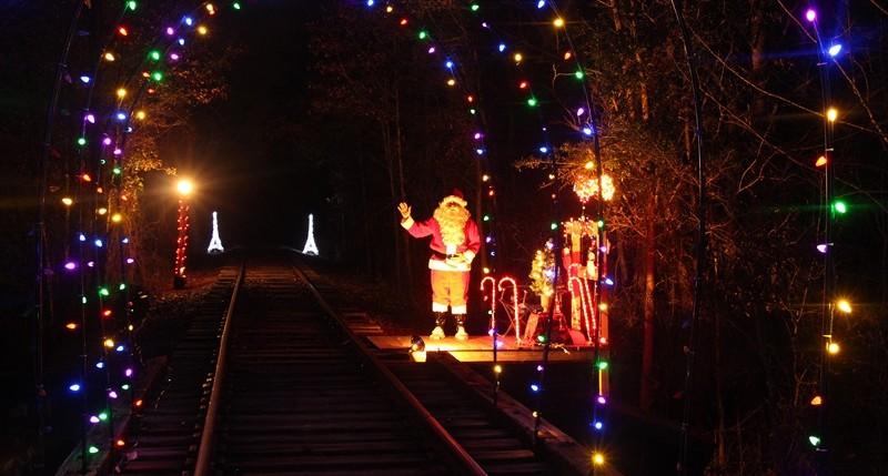 Christmas Rail Ride